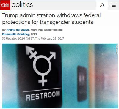 Trump Didn't 'Revoke' Protections for Trans Students–Because He Can't