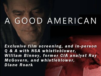 A Good American - The Story of William Binney