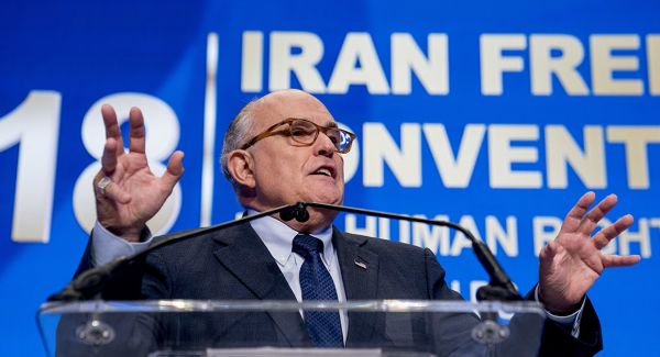 Giuliani Takes Cash to Speak to Terrorist Cult; Media Find This Unnoteworthy