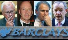 Barclays and Its Executives Are Charged With Conspiracy to Commit Fraud