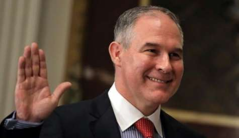 Days After Pruitt Becomes EPA Head, Newly Released Emails Show His Ties to Koch Bros. & Energy Firms