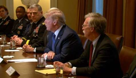 """A Very Dangerous Moment"": Trump Threatens to Strike Syria as Warmonger John Bolton Joins Cabinet"